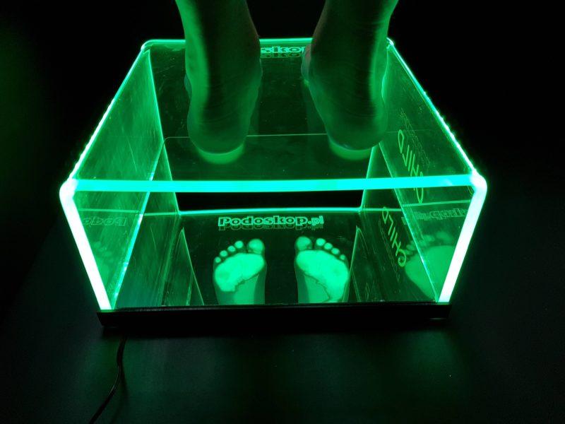Podoskop diagnostyczny dla dzieci