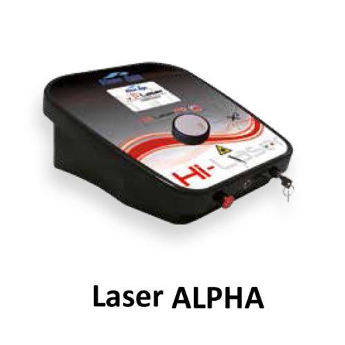 Laser wysokoenergetyczny ALPHA
