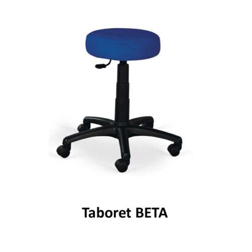 Taboret BETA (na kółkach)