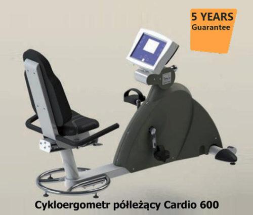 Cykloergometr półleżący Cardio 600