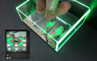 Podoskop komputerowy podświetlany z kamerą FullHD