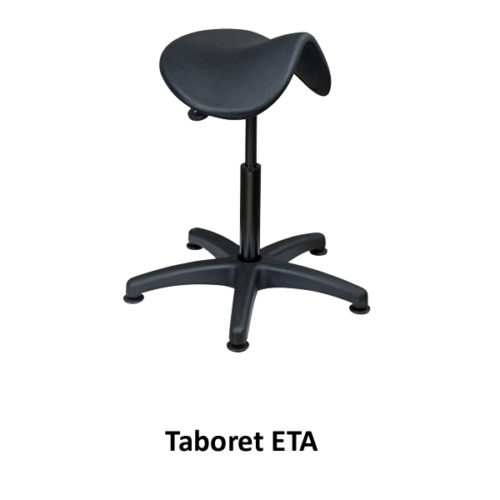 Taboret ETA (na stopkach, bez kółek)