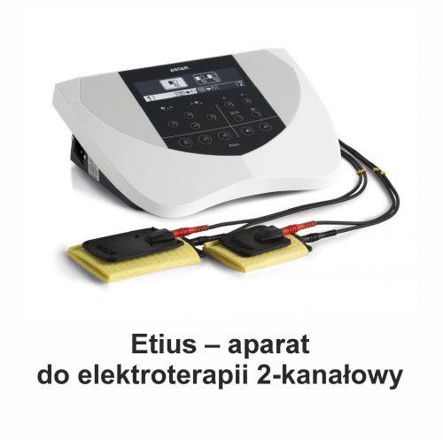 Etius – aparat do elektroterapii 2-kanałowy