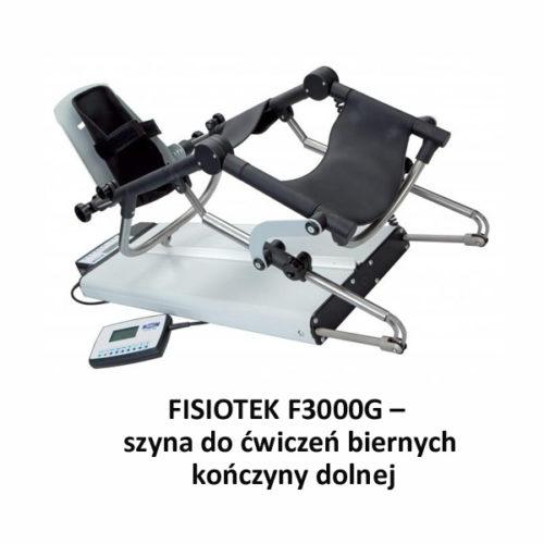 FISIOTEK F3000G – szyna do ćwiczeń biernych kończyny dolnej