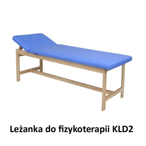 Leżanka drewniana do fizykoterapii KLD2