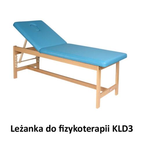 Leżanka drewniana do fizykoterapii KLD3