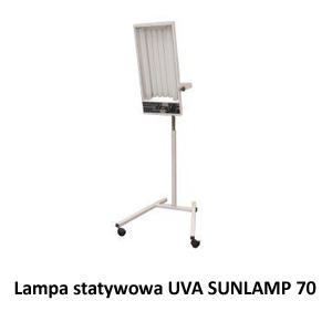 Lampa statywowa UVA SUNLAMP 70
