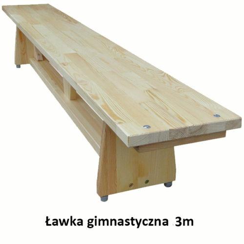 Ławka gimnastyczna 3m