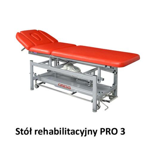 Stół rehabilitacyjny PRO 3