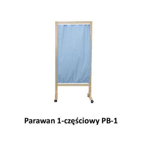 Parawan 1-częściowy PB-1