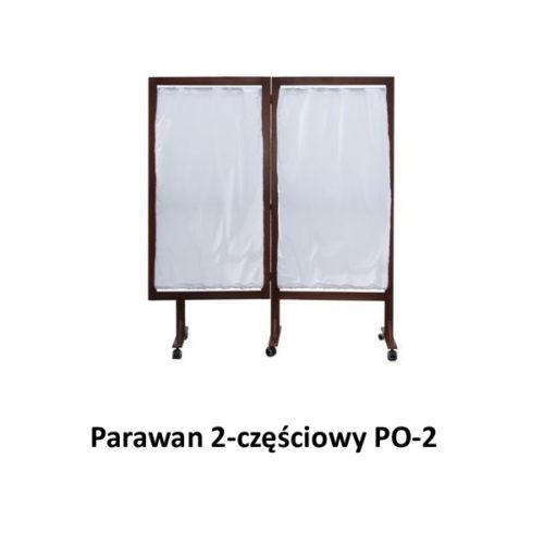 Parawan 2-częściowy PO-2