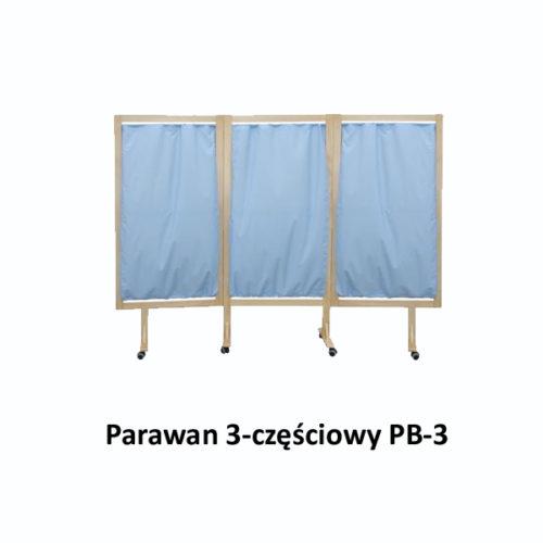 Parawan 3-częściowy PB-3