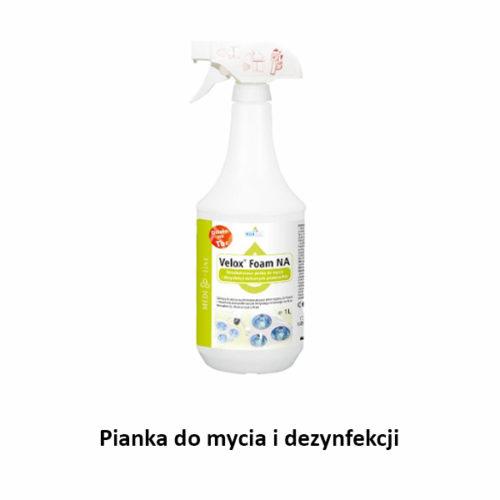 Pianka do mycia i dezynfekcji