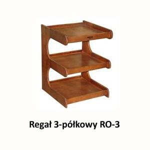 Regał 3-półkowy RO-3