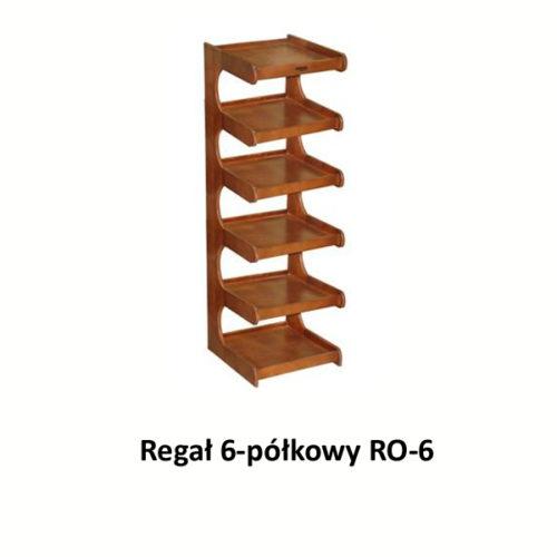 Regał 6-półkowy RO-6