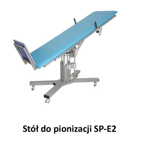 Stół do pionizacji SP-E2