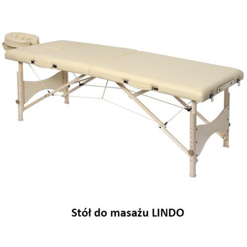 Składany stół do masażu LINDO