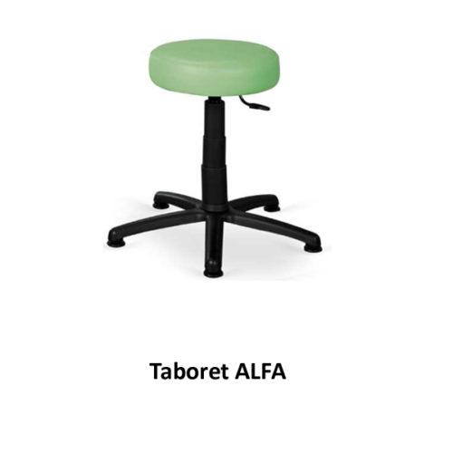 Taboret ALFA (bez kółek)