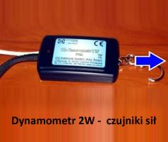 Dynamometr 2W - czujniki sił