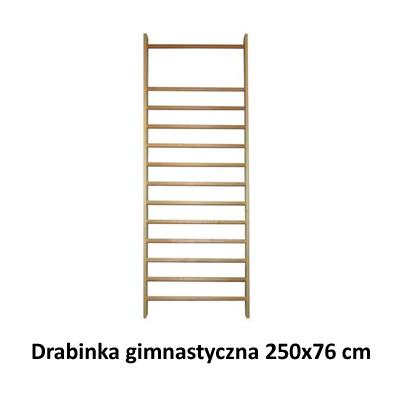 Drabinka gimnastyczna 250x76 cm