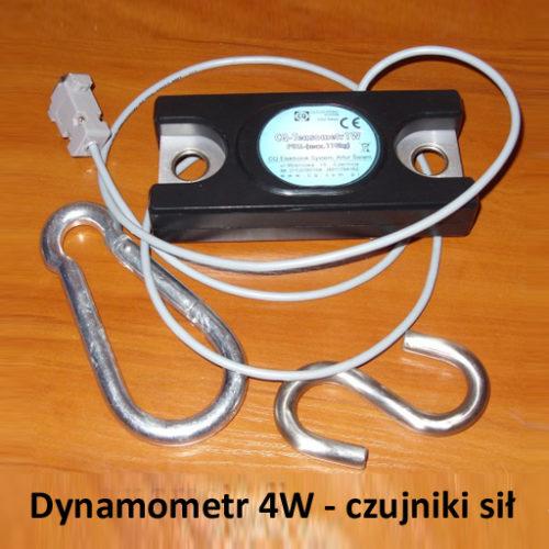 Dynamometr 4W - czujniki sił