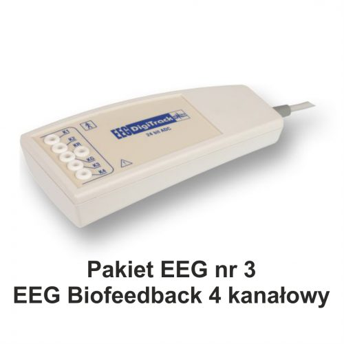 Pakiet EEG nr 4 – EEG Biofeedback 5 kanałowy