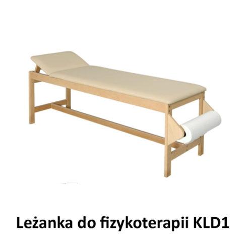 Leżanka drewniana do fizykoterapii KLD1