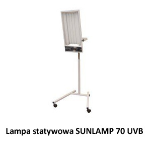 SUNLAMP 70 UVB– lampa statywowa UVB