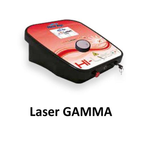 Laser wysokoenergetyczny GAMMA  Odłącz