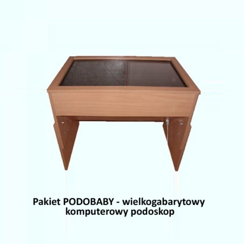 Pakiet PODOBABY - wielkogabarytowy komputerowy podoskop