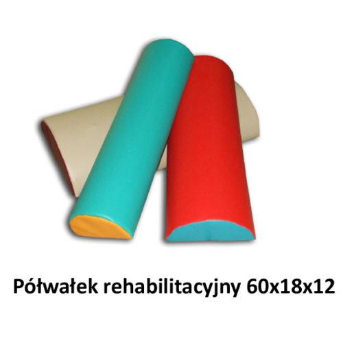 Półwałek rehabilitacyjny 60x18x12