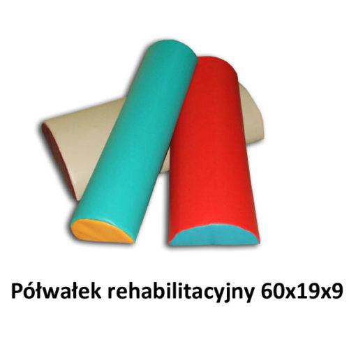 Półwałek rehabilitacyjny 60x19x9