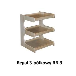 Regał 3-półkowy RB-3