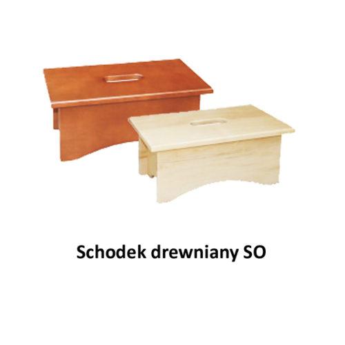 Schodek drewniany SO