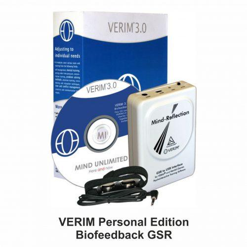 VERIM Personal Edition – Biofeedback GSR