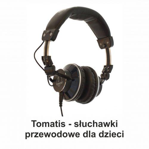 Tomatis Słuchawki Przewodowe Terapia