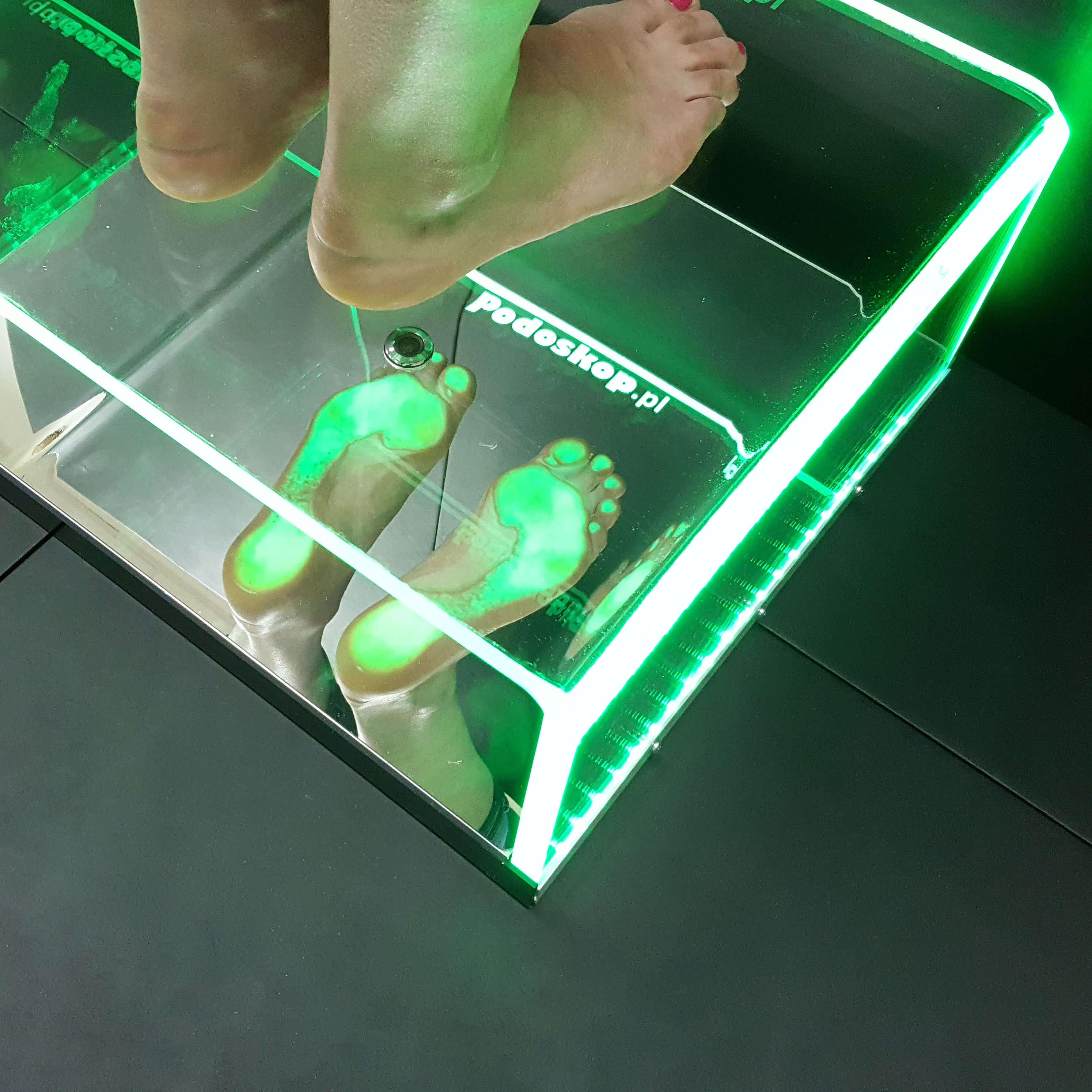 podoskop komputerowy