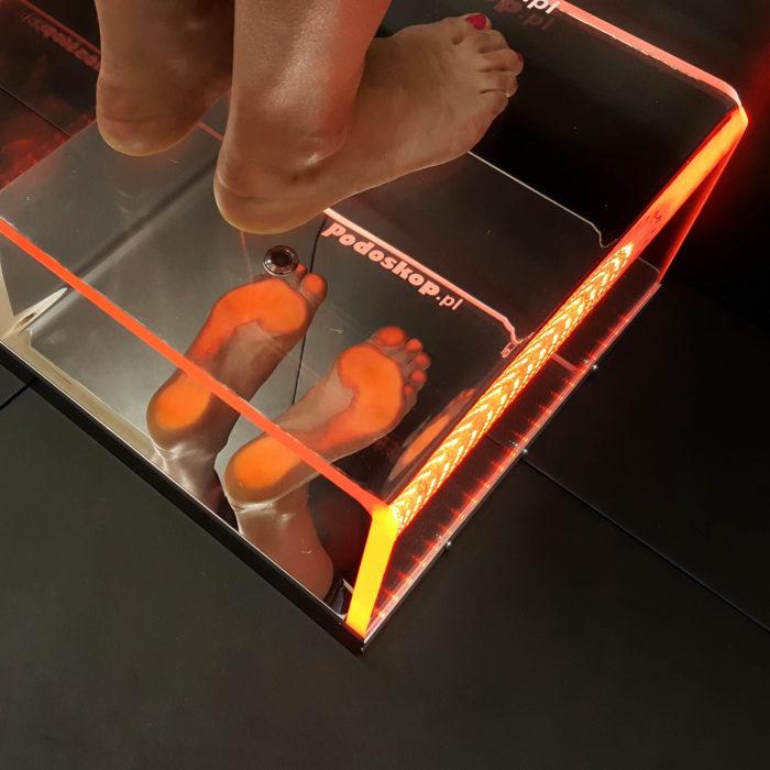 podoskop komputerowy RGB