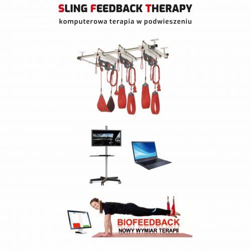 Zestaw SFT03R – Sling Feedback Therapy REDCORD Workstation