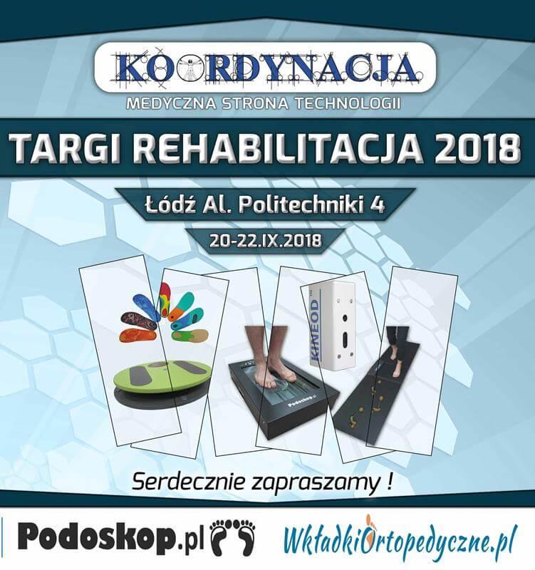Zaproszenie na Targi Rehabilitacji Łódź 2018