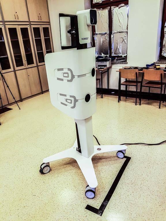Biomod FB analiza pleców 3D