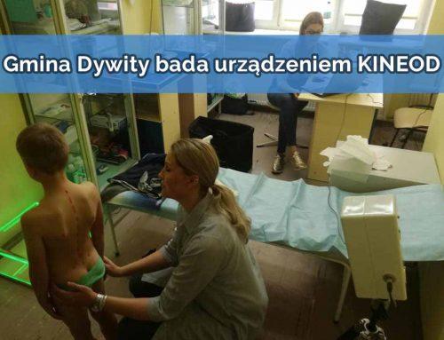 Gmina Dywity bada najmłodszych urządzeniem KINEOD