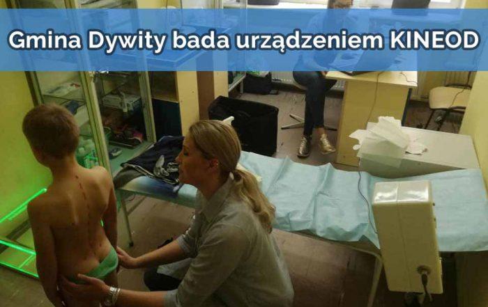 Gmina Dywity bada urządzeniem KINEOD