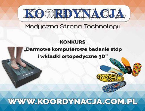 Darmowe komputerowe badania stóp i wkładki ortopedyczne 3D [KONKURS]
