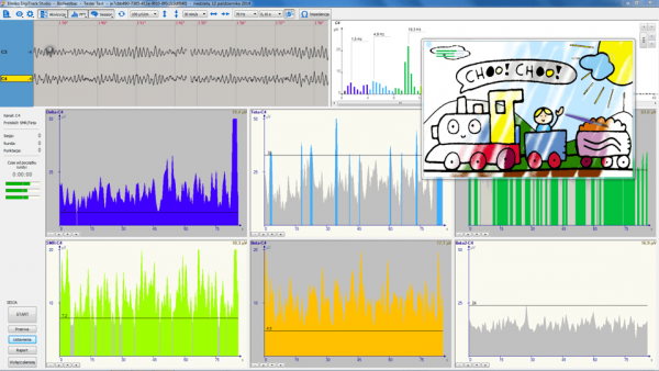Oprogramowanie EEG Biofeedback-1