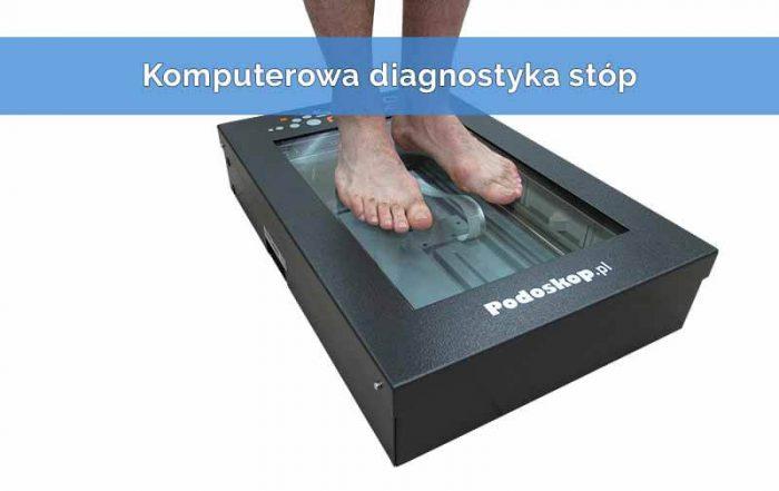 Podoscaner 2D komputerowa diagnostyka stóp
