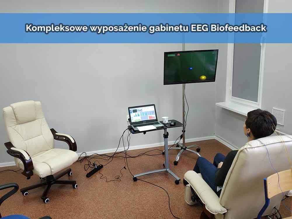 Wyposażenie gabinetu do terapii EEG Biofeedback
