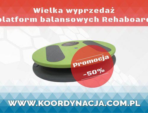 Wielka wyprzedaż komputerowych platform balansowych RehaBoard
