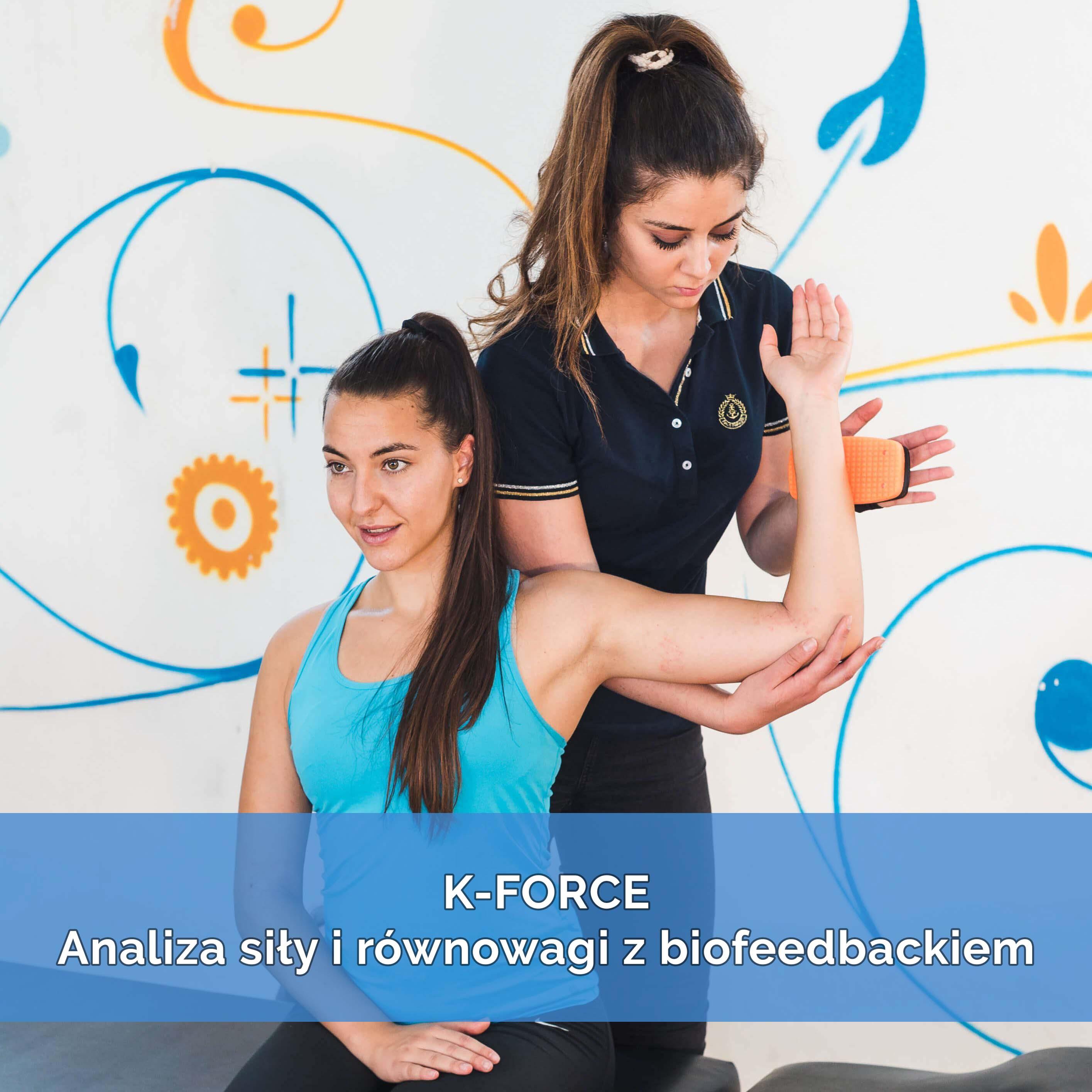 K-FORCE Analiza siły i równowagi z biofeedbackiem