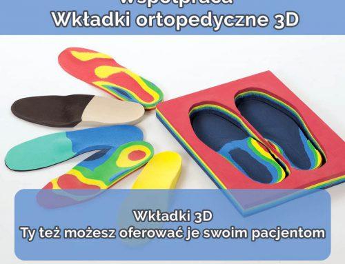 Wkładki ortopedyczne 3D – Współpraca